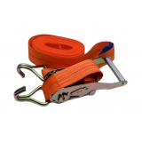 cinta com catraca para amarração de carga Edéia