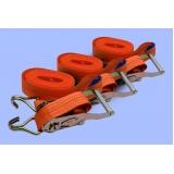 cinta para amarração de carga com catraca