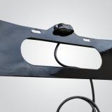 comprar régua sinalização suporte placa transbike com luzes Corumbá